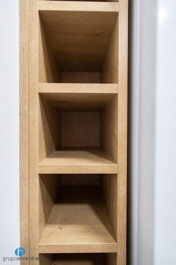 estanteria madera cocina