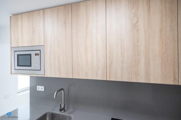 armario madera cocina