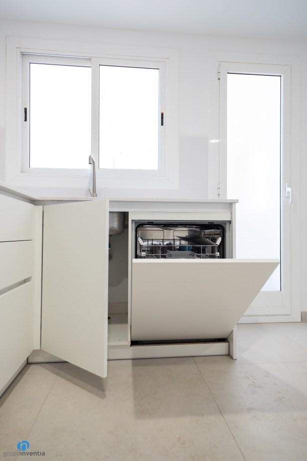 lavavajillas integrado cocina