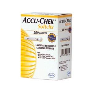 Accu-Check Softclix C/200 Lancetas Roche