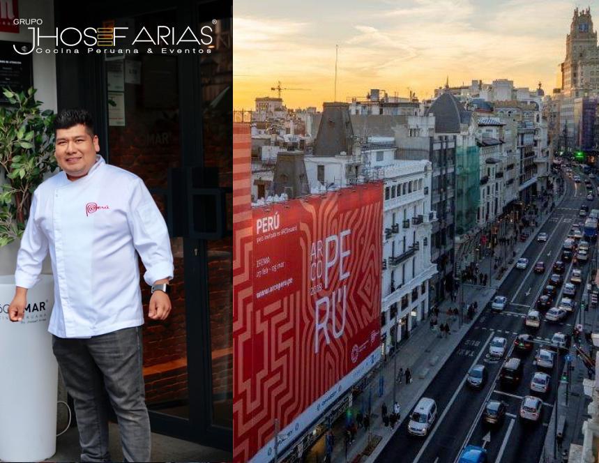 El Grupo Jhosef Arias apoya a Perú con motivo de la feria ARCOmadrid