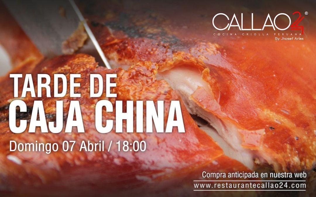 Tarde Caja China 7 abril
