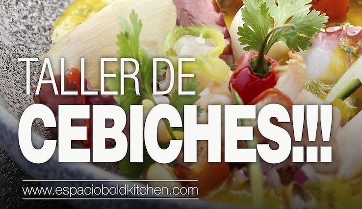 Taller de Cocina Cebichando en Madrid – 10 Abril 2019