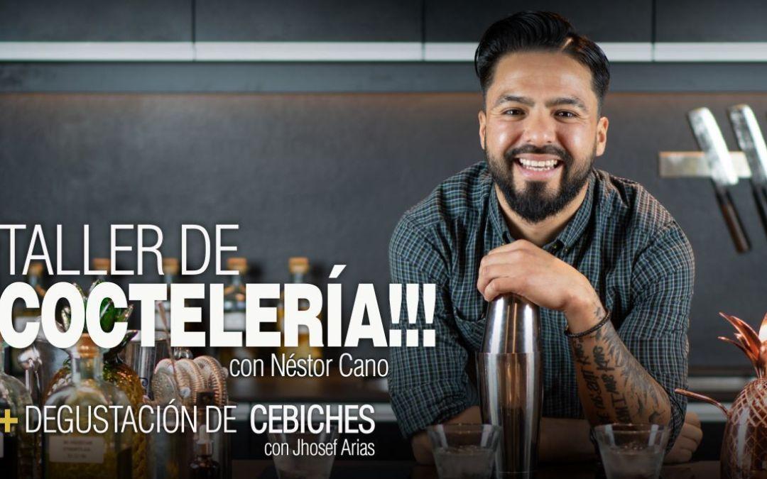 Taller de Coctelería con Nestor Cano + Showcooking Degustación Cebiche – 5 de Junio