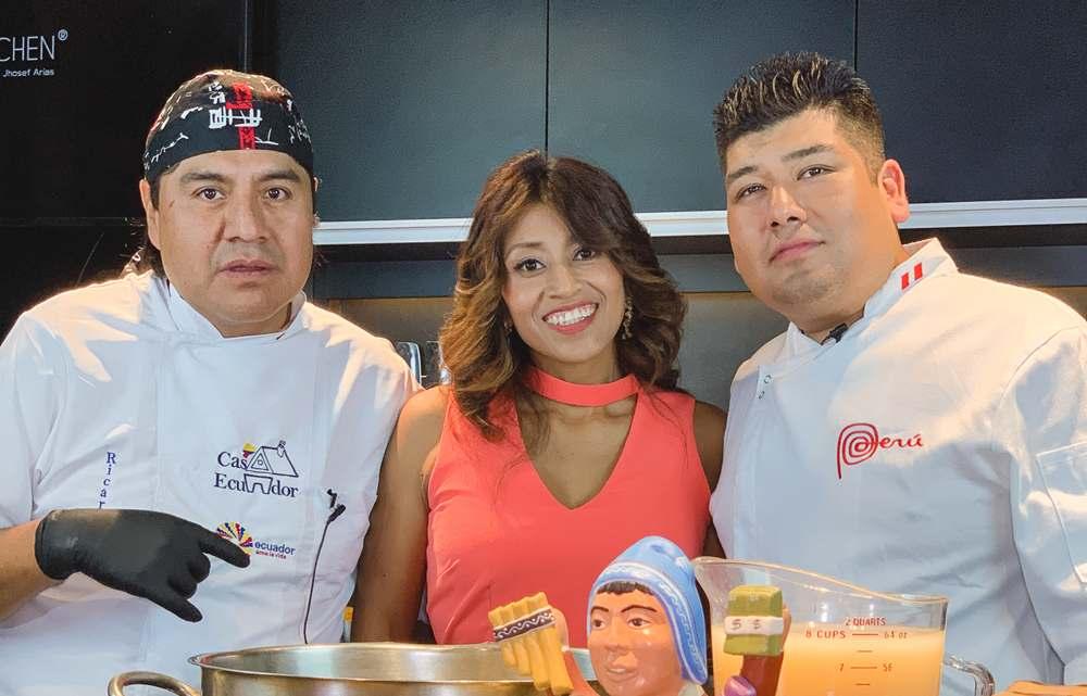 Chef & Chef:  Cocinando con Ricardo Chanchay