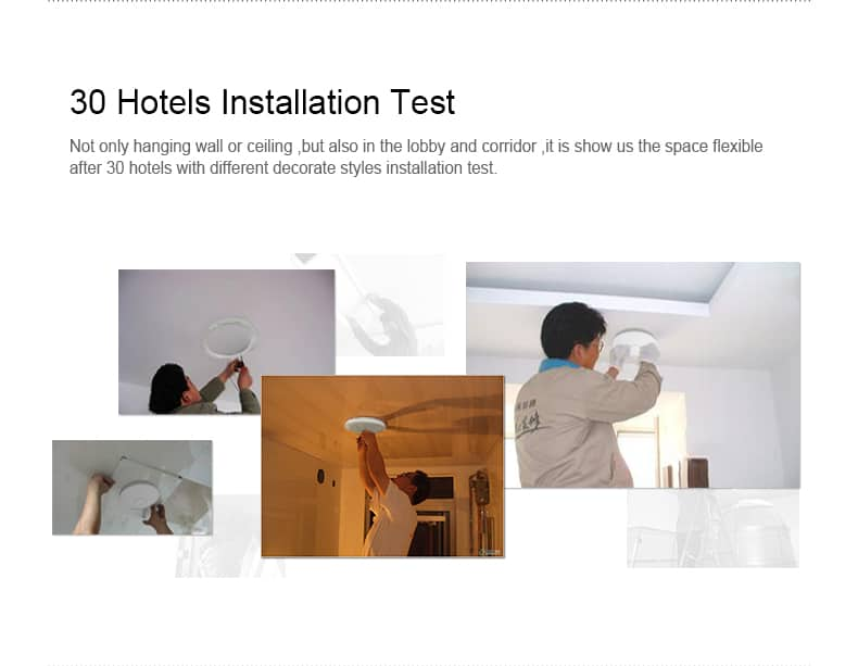 COMFAST CF-E320N 30 hotelsistallation test