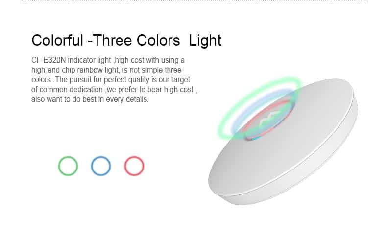COMFAST CF-E320N colorful three colors light
