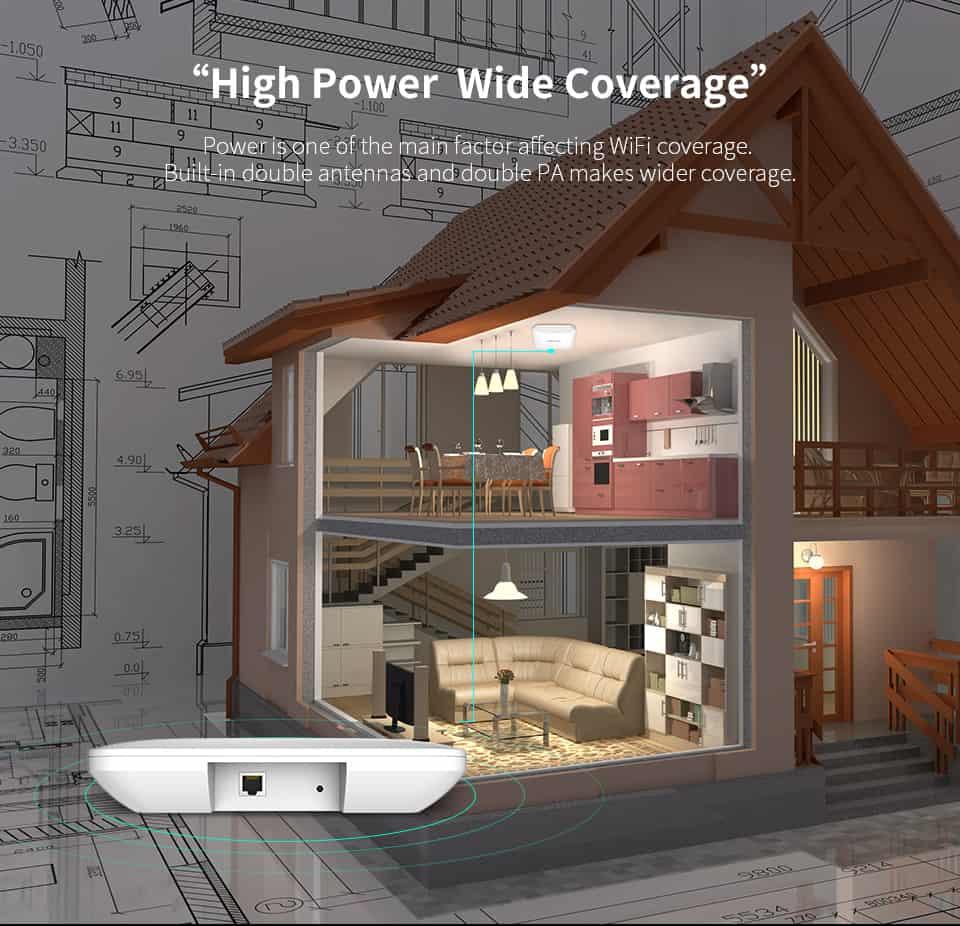 Comfast CF-E356A High Power Wide