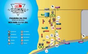 Mapa recinto RFM SOMNII