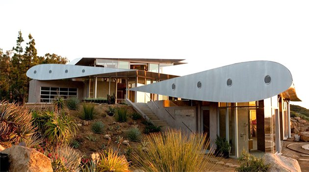 747 Wing House por David Hertz Architects en Malibu, California