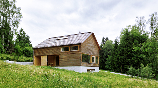 Casa en Tschengla por Innauer-Matt Architekten en Bürserber, Austria
