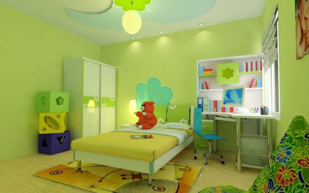 15 pruebas de que el verde es siempre una gran elección para la habitación de los niños