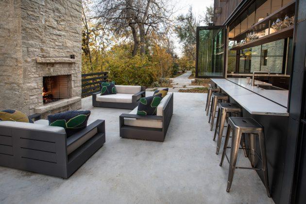 Residencia Chickadee de Surround Architecture en Boulder, Colorado