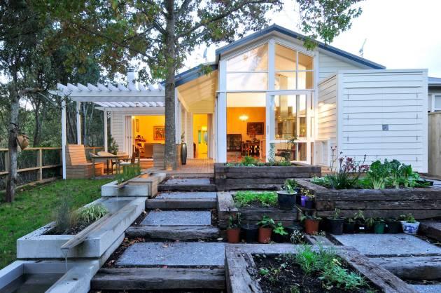 18 impresionantes diseños de paisajes de casas de campo que desearás tener en tu jardín