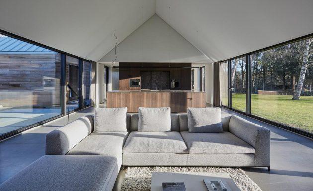 Casa Ry por Christoffersen & Weiling Architects en Ry, Dinamarca