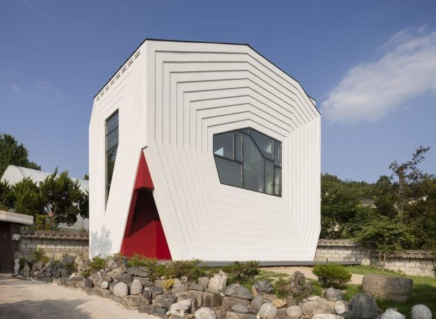 Casa Conan de Moon Hoon en Bangdong, Corea del Sur