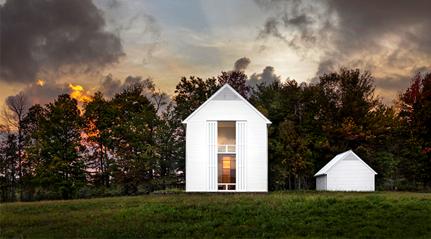 Pennsylvania Farmhouse por Cutler Anderson Architects en Lakewood, PA