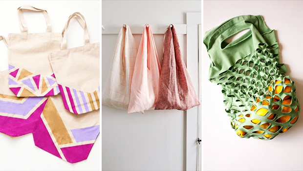 16 bolsos de compras de bricolaje impresionantes que coincidirán con tu estilo