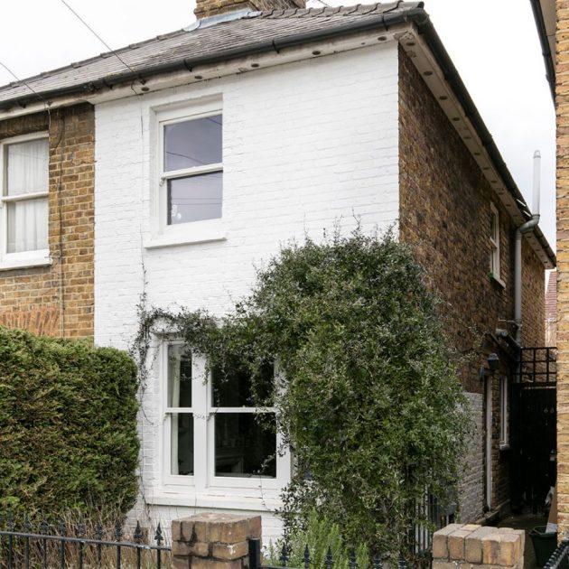 Da un paseo en esta casa familiar pequeña pero perfectamente formada en el sur de Londres