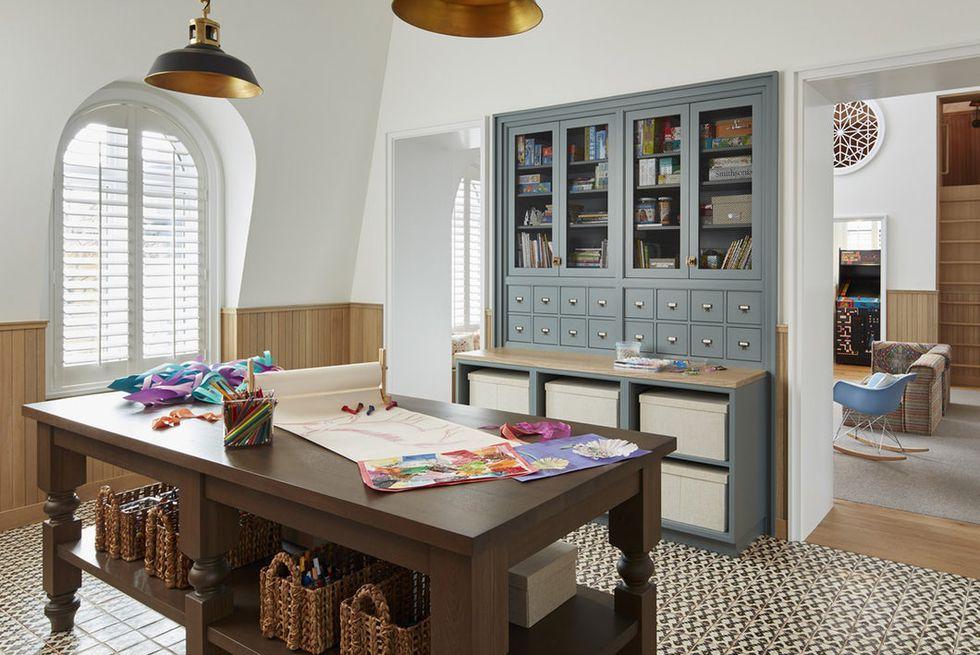 5 ideas elegantes para la sala de manualidades que despertarán tu creatividad