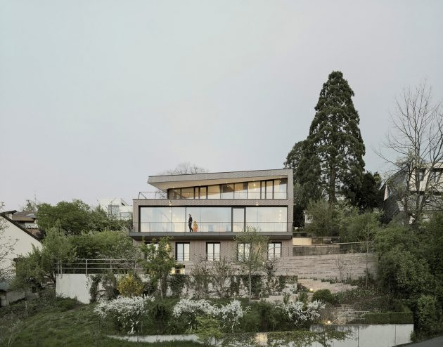 Casa B de Yonder Architecture and Design en Stuttgart, Alemania