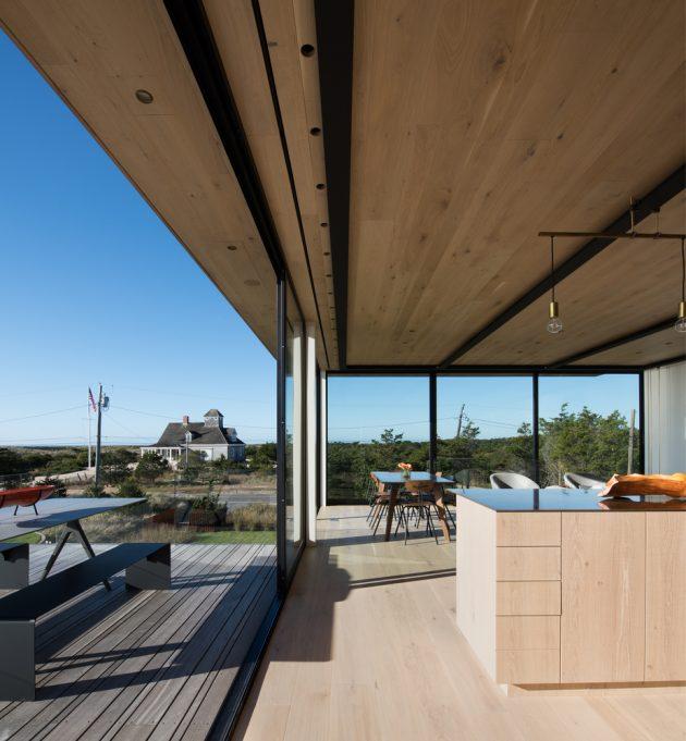 Atlantic House por Bates Masi + Architects en Amagansett, Nueva York