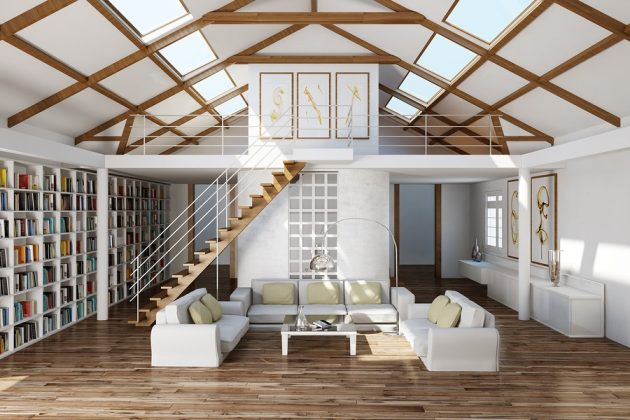 Grandes ideas de diseño para una escalera que ahorra espacio