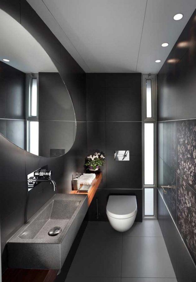 10 baños pequeños decorados para tu baño