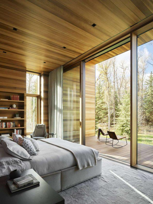 Residencia Riverbend por Carney Logan Burke Architects en Jackson, Wyoming