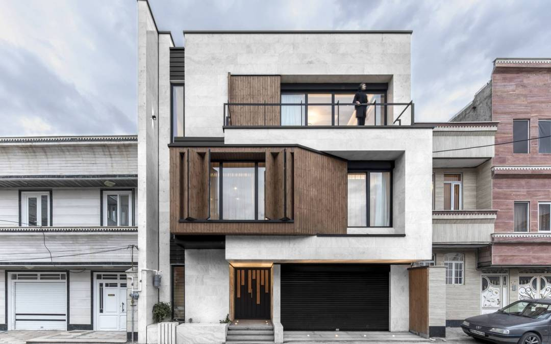 Parnian House by White Cube Atelier in Maku, Iran