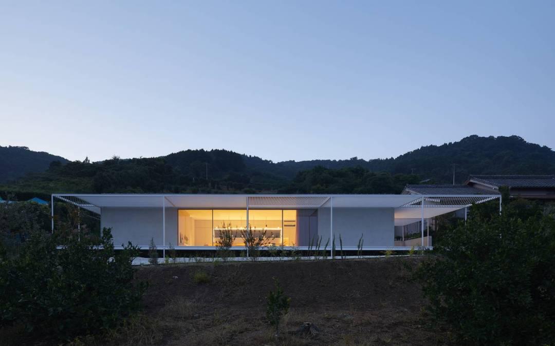 House in Shiraiwa by 2id Architects in Hamamatsu, Japan