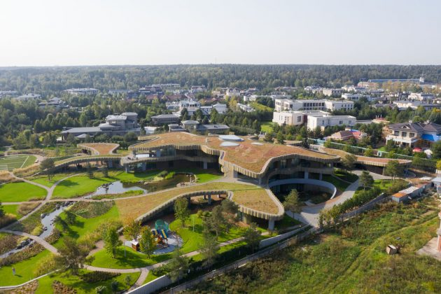N.N Residence por J. Mayer H y Alexander Erman Architecture & Design en Moscú