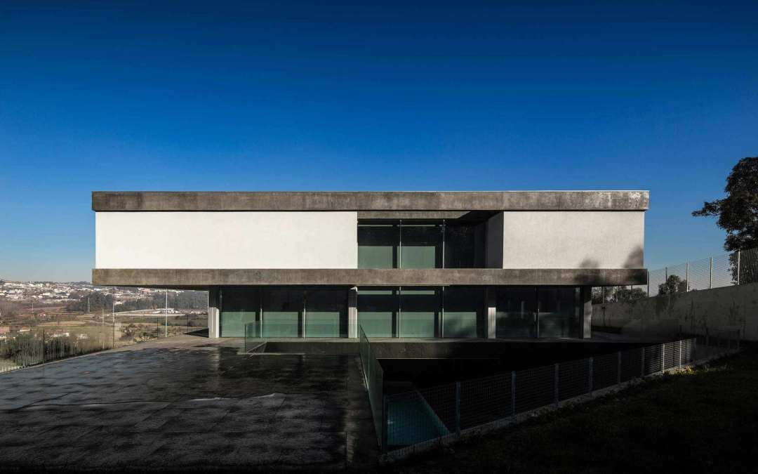 BE House de Spaceworkers en Paredes, Portugal
