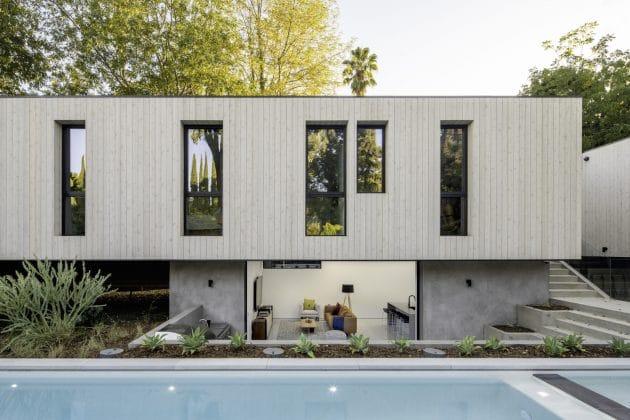 Bridge House LA por Dan Brunn Architecture en Los Angeles, California