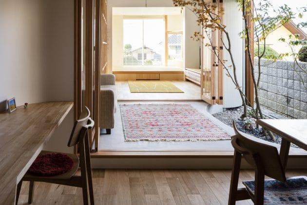 Melt House by SAI Architectural Design Office en Yao, Japón