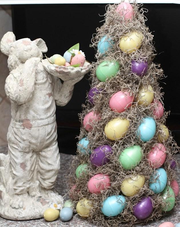 16 ideas alegres de bricolaje para el centro de Pascua que atraerán toda la atención