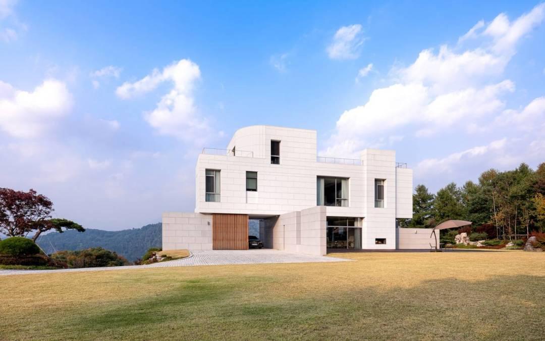 Residencia Yeoju por YKH Associates en Yeoju-gun, Corea del Sur