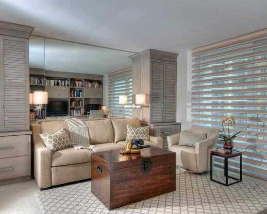 Ambientes decorados con persianas