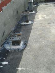 Instalación de pedestales - Proyecto Curundu