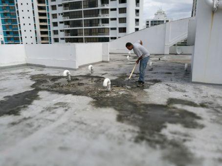 Limpieza de superficie