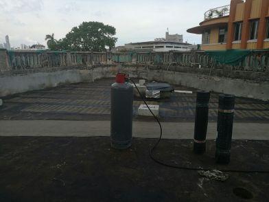 Impermeabilización de losa Hotel Concordia