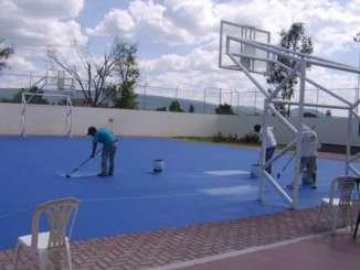Zumar Ejidal Zelaya - Pintura de canchas deportivas.