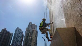 Lavado de fachada Costa Pacífica
