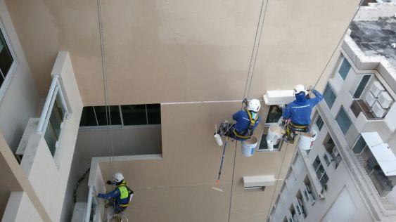 Trabajos de altura en proceso