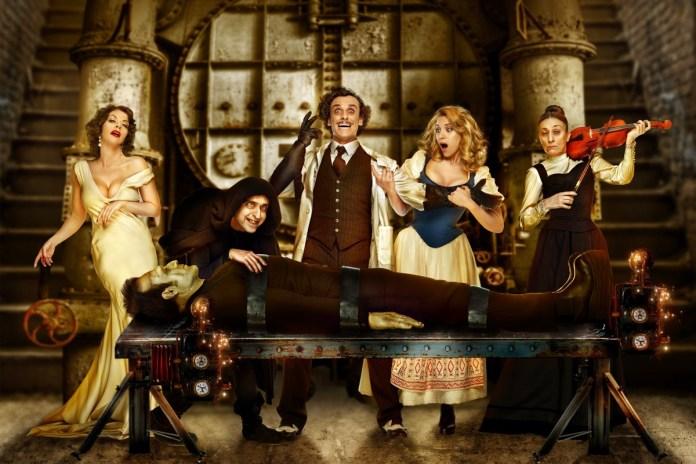 El elenco al completo de El Jovencito Frankenstein / Foto: S Media