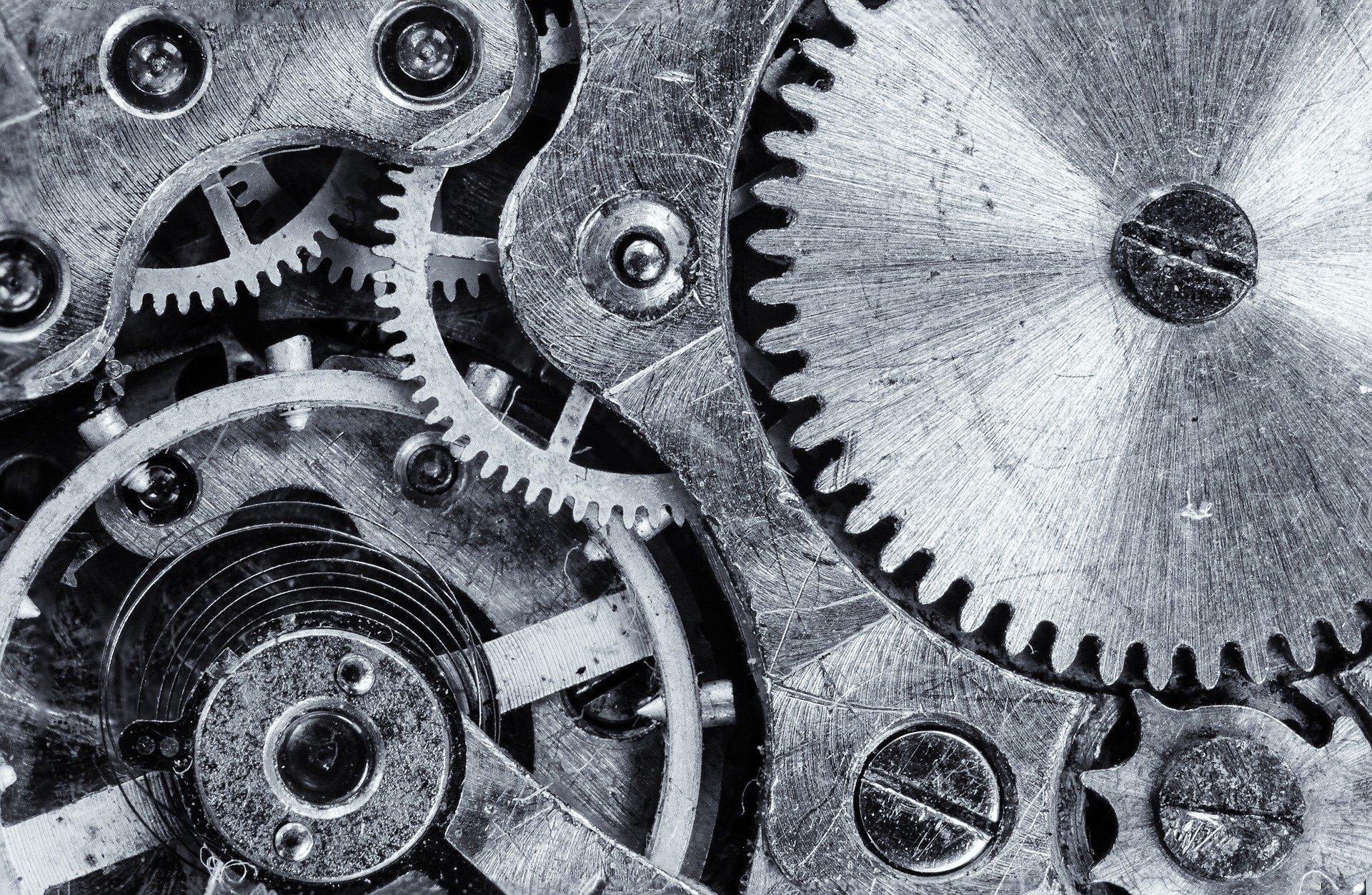 Engranajes de un reloj