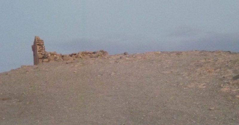 Fotografía de la Luna en la playa del Papagayo de Playa Blanca (Lanzarote) Fotografía de Ignacio J. Dufour García