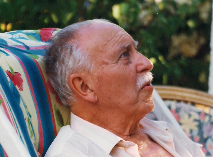 Fotografía del padre de Alberto Morate (Foto familiar)