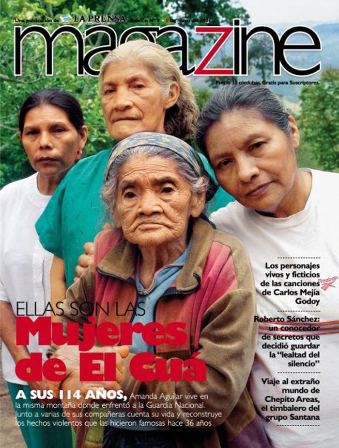 La revista Magazine de La Prensa publicó un reportaje especial en mayo de 2004 sobre estas mujeres símbolo de la resistencia campesina.