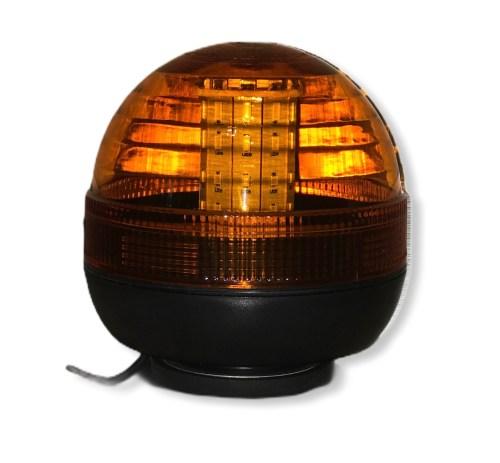 Lampeggiante LED per trattore a supporto magnetico